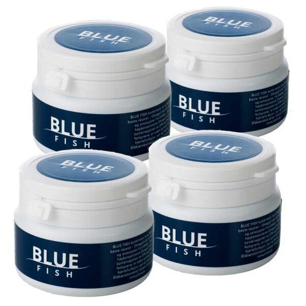 Blue Fish 4pk - Fjord-Minerals