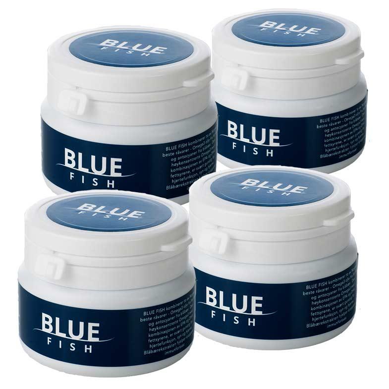 Blue Fish 4 pk