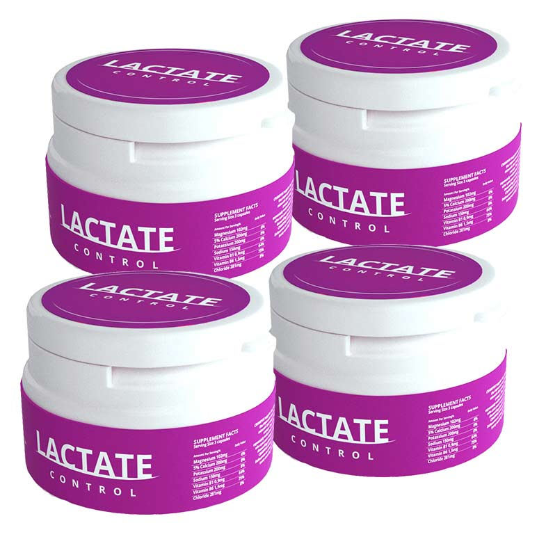 Lactate Control 4 pk